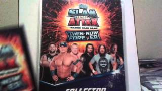 Opening 2 Packs Of Slam Attax Then Now Forever