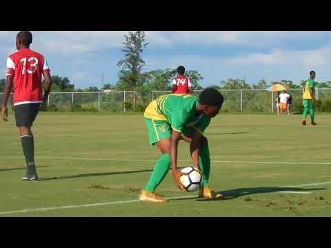 BVIFA U15 Boys beat Montserrat, 8-2, CONCACAF Championship, 2017