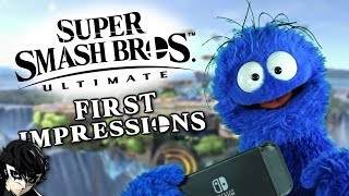 Smash Ultimate │ First ImpSMASHions + Joker Reveal Reaction