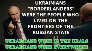 EXCLUSIVE Interview! Putin: Russians And Ukrainians Are The Same People!