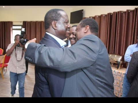 Raila Odinga attends Nasa meeting in Athi River
