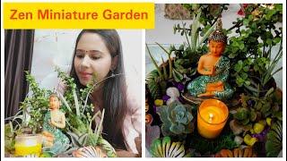 Hi Guys , In todays Video I am sharing Zen Miniature Garden DIY   How to make Miniature Zen Garden   Zen Miniature Garden Ideas   This beautiful Zen garden ...
