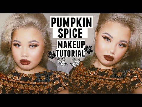 Pumpkin Spice Makeup Tutorial | KIM THAI