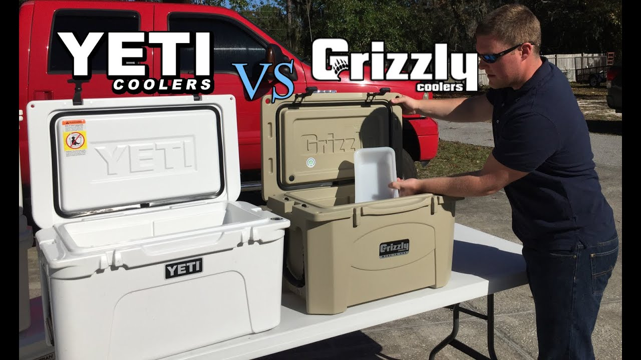Grizzly Coolers Vs Yeti Who Lasts Longer Ice Challenge Results