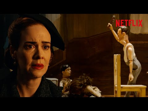 Ratched's Life Story Told By Puppets - Full Scene   Netflix las mejores escenas de series 2020