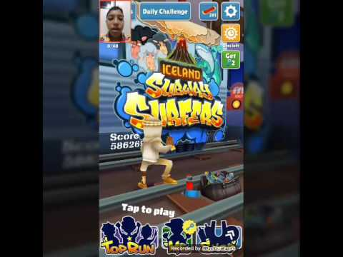 (Mr.Athens gamer) เล่นเกม surfway .........
