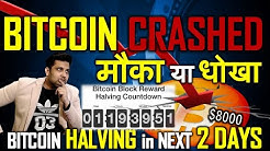 Bitcoin Big Flash $1500 Crash I मौका या धोखा, आगे क्या ? Ethereum और Altcoins का क्या होगा