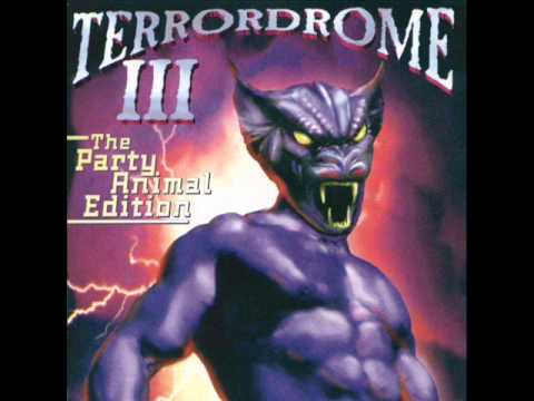 Terrordrome 3 cd 3 Dj Chosen Few - The Party Animal Megamix