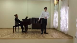 """Давид Большов (бас): Д. Кабалевский """"Серенада Дон-Кихота"""""""