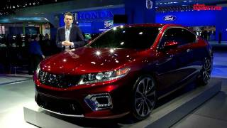 Honda Accord Coupe Concept 2013 Videos