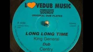 King General - Long Long Time With Version - 10 Inch Single - DJ APR