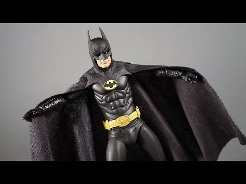 25th Anniversary 1989 Batman NECA Movie Version Action Figure Review Toys Keaton Blu-Ray Bundle