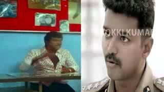 theri actor vijay mass funny edit😉
