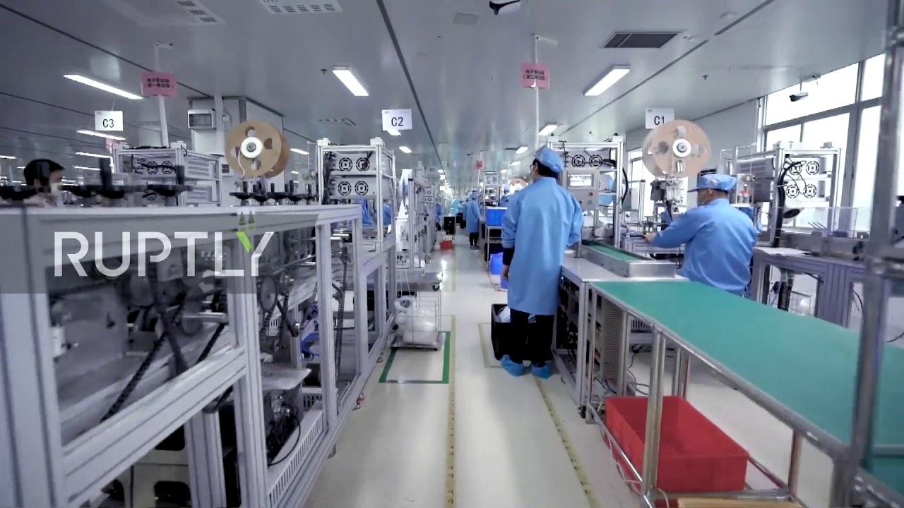 China: Factory produces 5 million masks a day in bid to supply shortfall