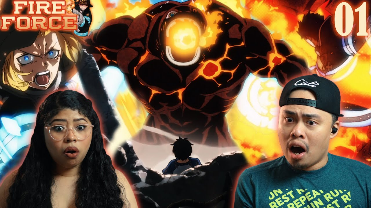 Download EPIC RETURN OF COMPANY 8! HILARIOUS EPISODE   Fire Force Season 2 Episode 1 Reaction