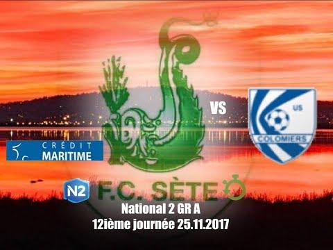 résumé.FC.Sète.U.S.Colomiers.25.11.2017