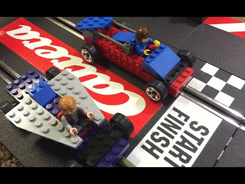 LEGO Slot Car Race