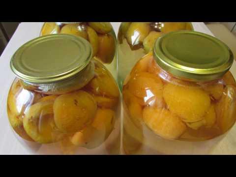 Компот из абрикосов на зиму ✧ Заготовки на зиму