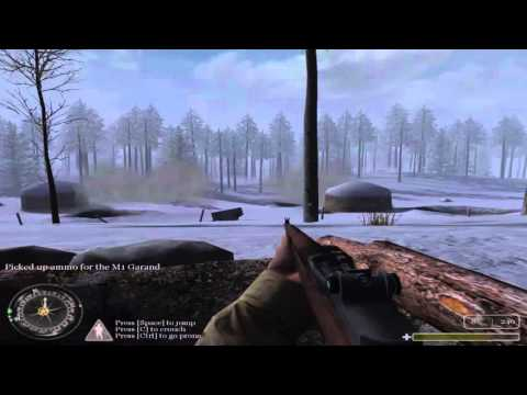 Call of Duty United Offensive - Mission 1 - Battle of the Bulge , Bastogne , Belgium  