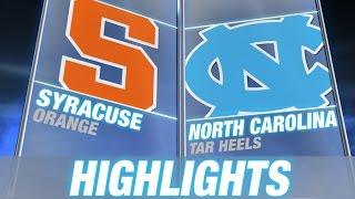 Syracuse vs UNC | 2015 ACC Men