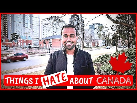 🔥 5 things I HATE about CANADA