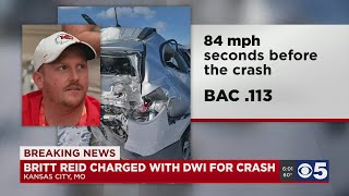 Britt Reid Charged With DWI For Crash