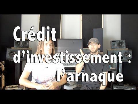 Crédit d'investissement : une arnaque