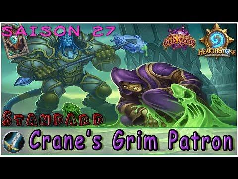 Hearthstone | Crane's Grim Patron Warrior Deck & Decklist | Constructed STANDARD|Spring Championship