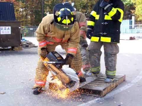 connecticut fire academy k12 saw skills youtube