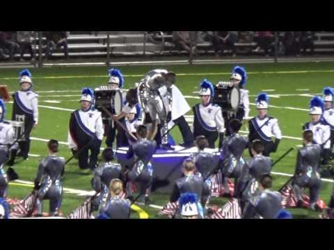 Southington High School Marching Band 2016 Kick off at Maloney