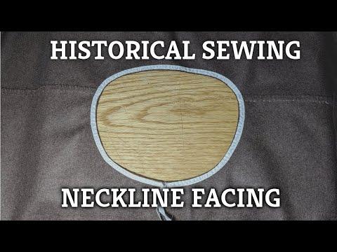 medieval-sewing---facing-a-neckline