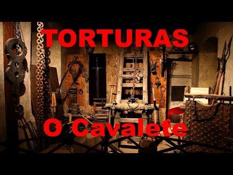 Torturas Medievais - Cavalete