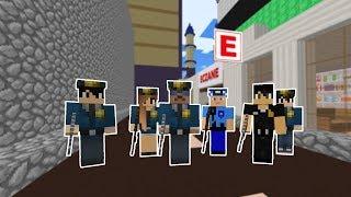 POLİSLER ŞEHRE BASKIN YAPIYOR! 😱 - Minecraft