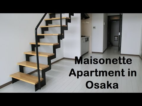 Japanese Apartment Tour: 1LDK maisonette apartment in Yodogawa-ku, Osaka Apartment Osaka