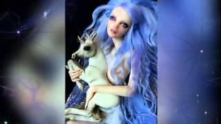 в.2 | Doll Fairy & Unicorn (Фея & Единорог) - Sculptures Nicole West HD