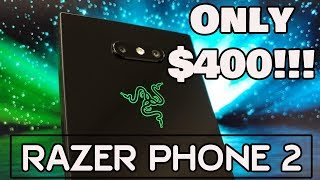 ULTIMATE GAMING PHONE! | Razer Phone 2 Unboxing & Review | Dolphin Emulation Test |