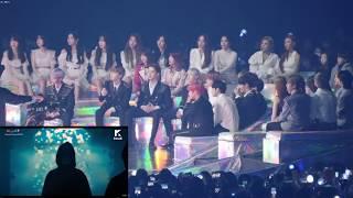 181201 MMA 2018 Artist Reaction to 방탄소년단 (BTS) FAKE LOVE & IDOL (WANNA ONE, BLACKPINK, IKON & more)
