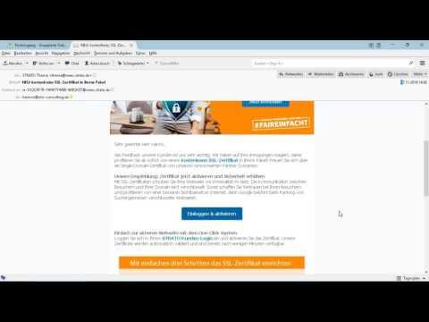 Gratis SSL-Zertifikat bei Strato