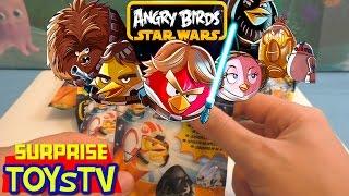 Распаковка Энгри Бердс Из Серии Звездные Войны (Angry Birds Star Wars Unboxing)