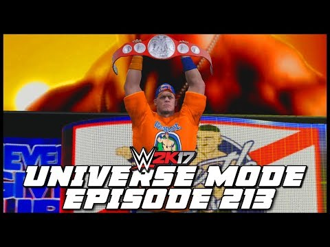 WWE 2K17 | Universe Mode - 'ELIMINATION CHAMBER PPV!' (PART 1) | #213