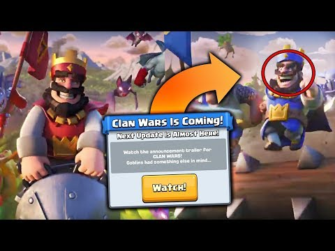 NEW CLAN WARS UPDATE!! 100% CONFIRMED! | Clash Royale | CLAN WARS UPDATE HYPE!