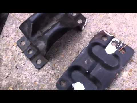 How to install chevy  prothane motor mounts