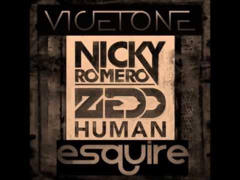 Vicetone vs Nicky Romero & Zedd feat. LIZ - Human Spark (eSQUIRE Mashup) (Free Download)