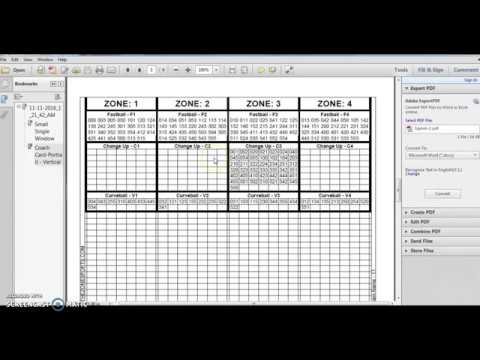 Wristbandsignscom Example Pitching And Defense Coachs Sheet And Player Card