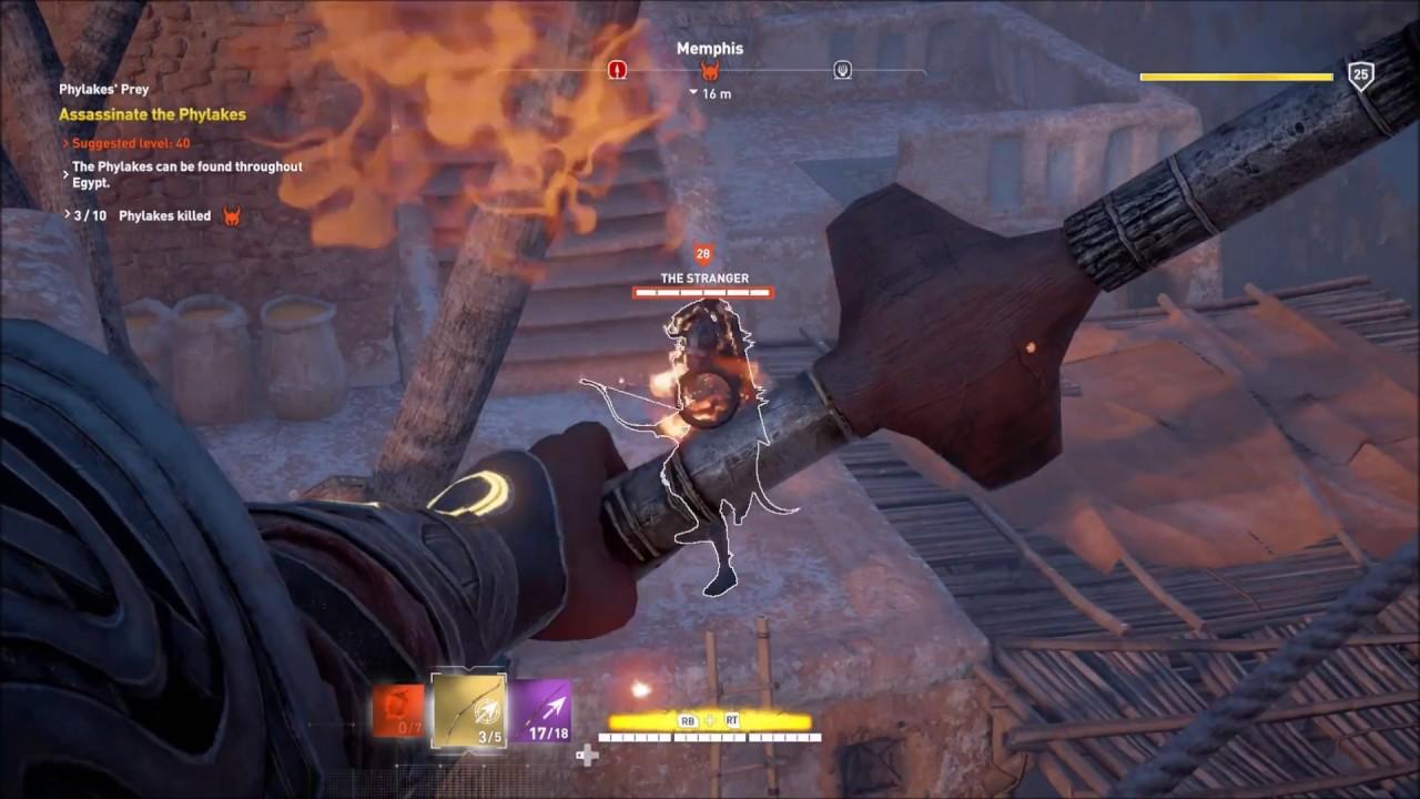 Assassin's Creed Origins Use Legendary Smoke and Mirror ...