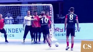 Ronaldinho Destroying Skills and Tricks in Premier Futsal 2018