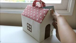 DIY Sewing a lovely Dollhouse
