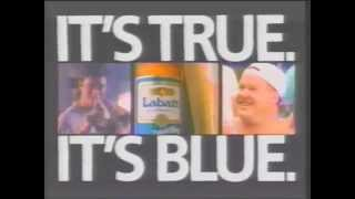 1989 Labatt's Blue beer commercial