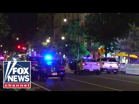 Multiple people shot on popular DC street
