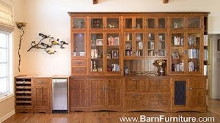 Barn Furniture - Mission Display Library Bookcase